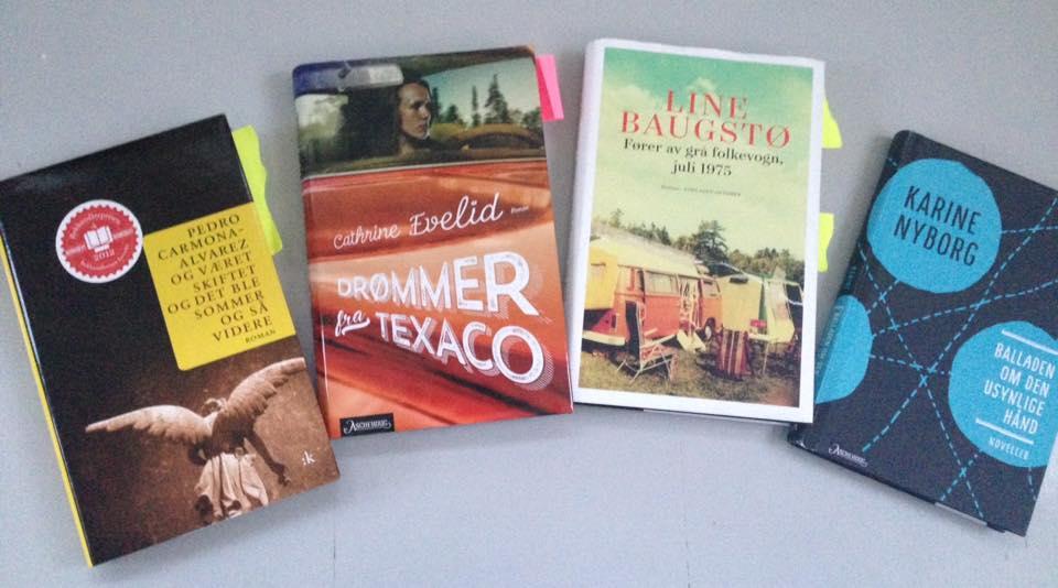 Bøker fra bokkaféene i januar
