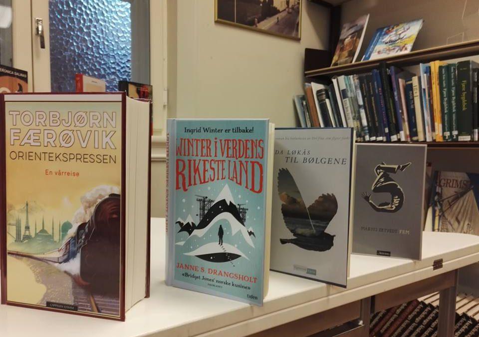 Bøker fra bokkaféene i februar