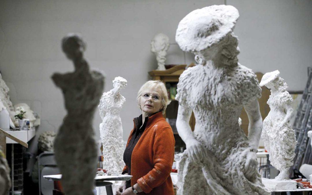 Avduking av skulptur